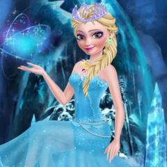 Jogo Vista Elsa de Rainha do Gelo