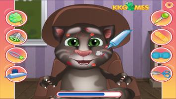 Vista o Talking Tom Bebê - screenshot 1
